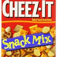 Cheez-It Snack Mix, Baked Snack Assortment, 10.5-Ounce Boxes (Pack of 3)
