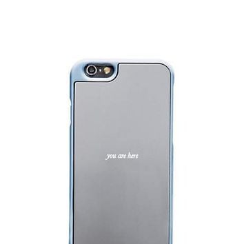 you are here iphone 6 case