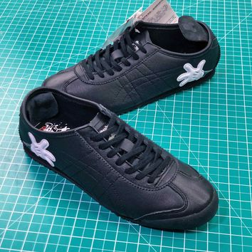 Asics Onitsuka Tiger Mexico66 Black Casual Shoes Sneakers Sale