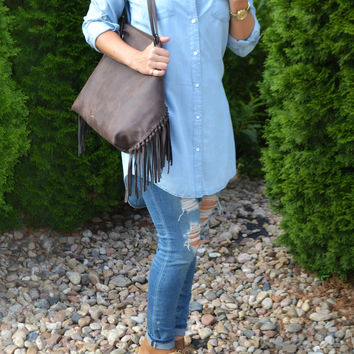 The Chambray Tunic