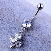 ac DCCKO2Q Belly Button Rings Body Jewelry Ear Plugs 2015 New Fake Nose Ring / Lot Clip On Septum For Clicker Non Piercing Hoop Filigree