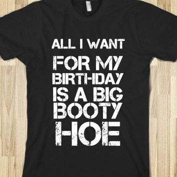 All I Want For My Birthday Is A Big Booty