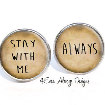 Stay With Me Always Earrings