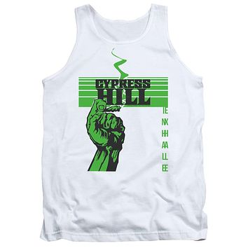 Cypress Hill Tanktop Inhale Exhale White Tank