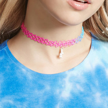 Unicorn Tattoo Choker