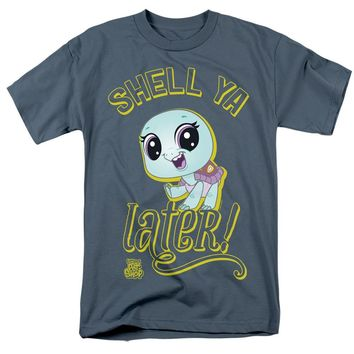 Littlest Pet Shop T-Shirt Shell Ya Later Slate Tee