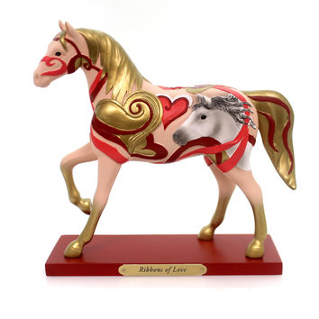Trail Of Painted Ponies Ribbons Of Love Figurine