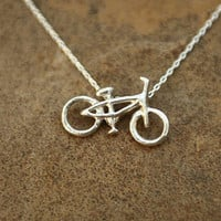 29er Silver necklace by GreenGoatDesigns on Etsy