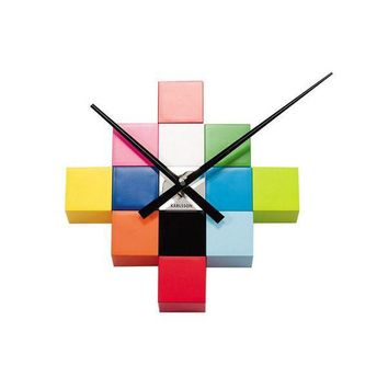 Rubix Wall Cube Wall Clock by Karlsson