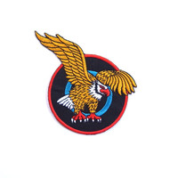 Golden Eagle Iron on Patch