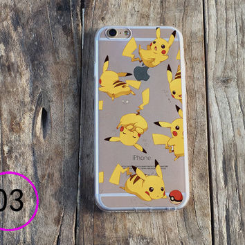 Pokémon Pikachu Phone Case iPhone6plus 4s 5s