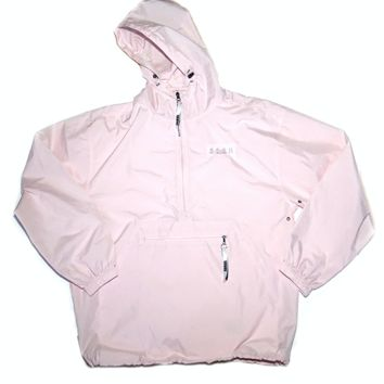 TeamSESH — Pink SESH Embroidered Hooded Windbreaker
