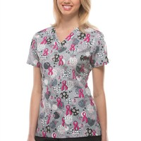 print scrub tops | printed scrub tops | print scrub tops for women - Scrubs and Beyond