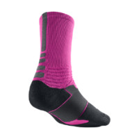 Nike Hyper Elite Crew Basketball Socks - Pink Foil