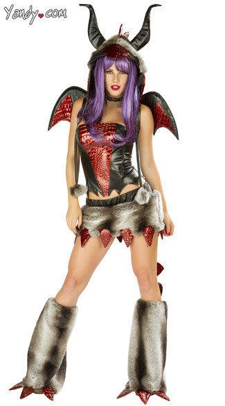Deluxe Fire Breathing Dragon Costume