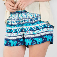 Nicoya Printed Shorts