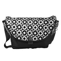 Pop Flower Power Courier Bag