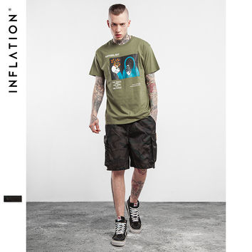 New Arrivels  Men's Casual Mesh Camouflage Loose Cargo Shorts Men Multi-pocket Military Shorts