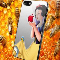 Snow White Apple for iPhone 4/4S/5/5S/5C Case, Samsung Galaxy S3/S4/S5 Case, iPod Touch 4/5 Case