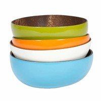 Coconut Bowl - Set of 6