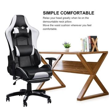 Gaming Office Chair Computer Desk