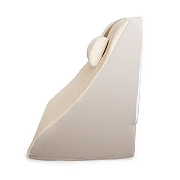 BetterRest Deluxe Bed Wedge Pillow – Incline Pillow Great For Surgical or Injury Recovery – Provides Outstanding Support to Back and Neck
