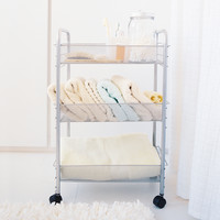 Mesh Rolling Cart - Small