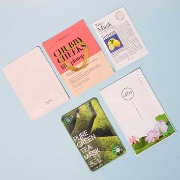 Sheet Mask Bundle: Brightening