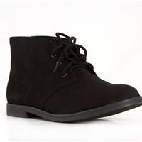 Soda Shoes Play Desert Booties in Black PLAY-S-BLK