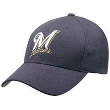 Milwaukee Brewers Wool Replica Baseball Cap by '47 Brand