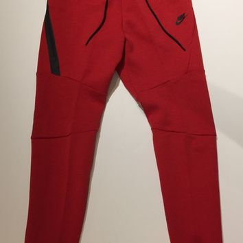 Nike Tech Fleece Sweats Red 805162-654