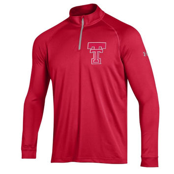 Texas Tech Red Raiders Under Armour Tech 1/4-Zip Pullover Jacket - Scarlet