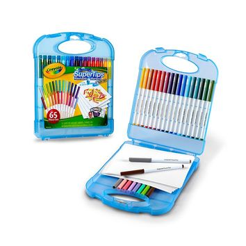 Crayola SuperTips Washable Markers Kit