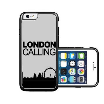 RCGrafix Brand London-Calling iPhone 6 Case - Fits NEW Apple iPhone 6