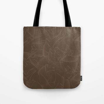 Quincy Tobacco Brown Tote Bag by deluxephotos
