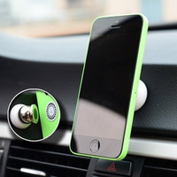 Paste multifunctional magnetic adsorption Car holder for Apple Samsung universal car magnet support = 1753493060