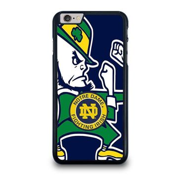 notre dame fighting irish iphone 6 6s plus case cover  number 1