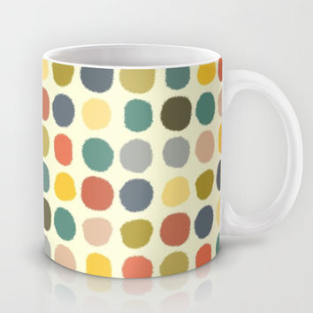 baby ikat spots cream Mug by Musings
