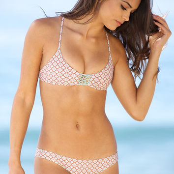 The Girl and The Water - Posh Pua 2014 - Lena Bikini Top Terra Cotta - $68