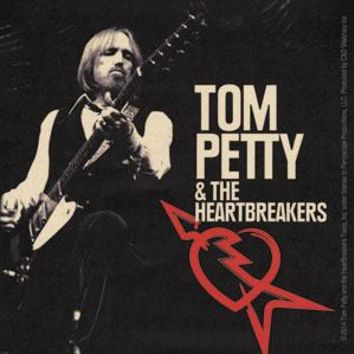Tom Petty Vinyl Sticker Rocking Logo