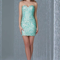 Madison James 16-330 Short Homecoming  Cocktail Dress