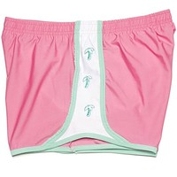 Palm Tree Shorts in Pink by Krass & Co.