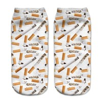 Cigarettes Ankle Socks