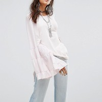 Free People No Crying In Baseball Extreme Sleeve Tee at asos.com
