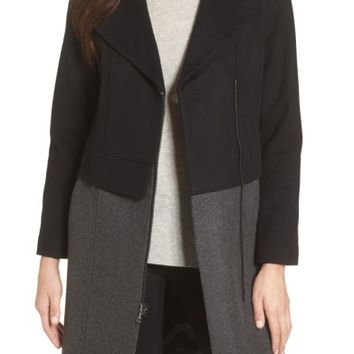 trina Trina Turk Brooklyn Colorblock Coat | Nordstrom
