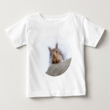 Squirrel with a walnut baby T-Shirt