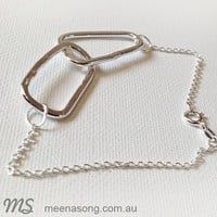 LINK BRACELET by Meena Song Jewellery