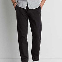 AEO Slim Straight Extreme Flex/Chino, Bold Black