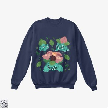 Brute Roots, Pokemon Crew Neck Sweatshirt