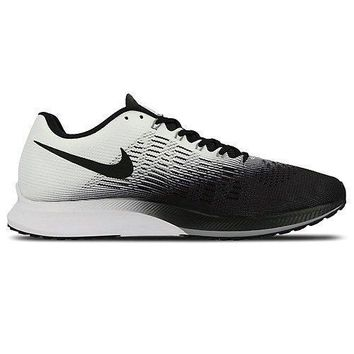 Nike Men's Air Zoom Elite 9 Running Shoe white nike air